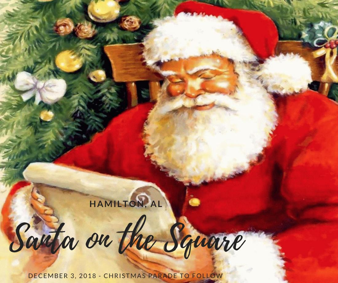 santa on the square hamilton 2018