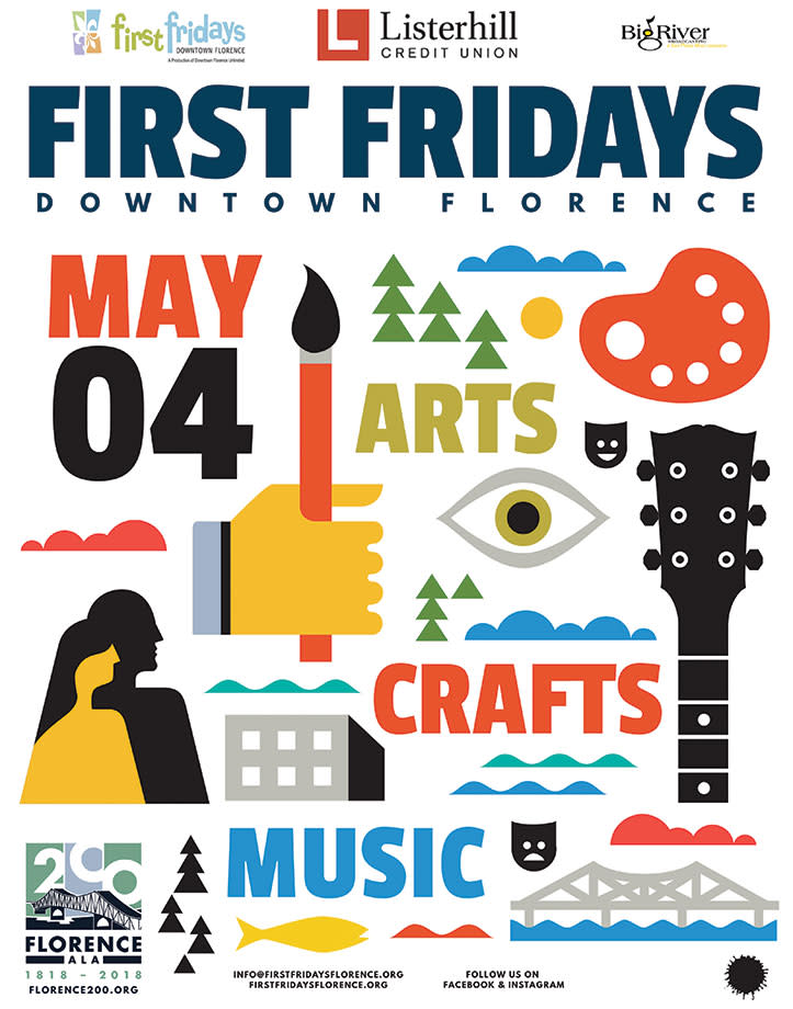 First Friday Poster