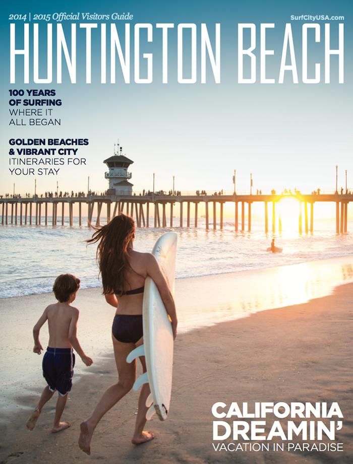 Huntington Beach Visitor Guide 2014