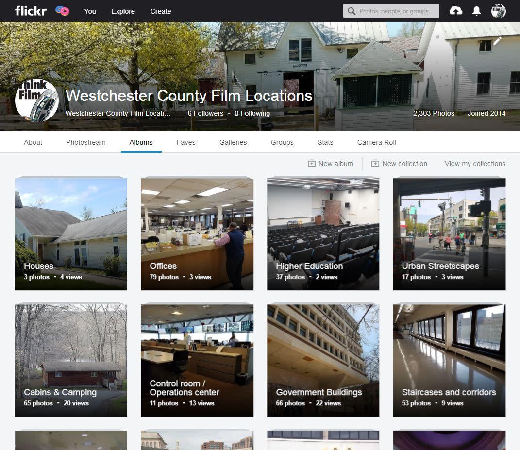 Film Office Flickr Albums