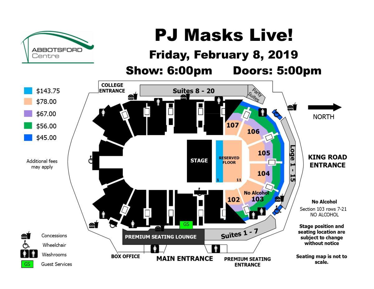 PJ Masks Live !