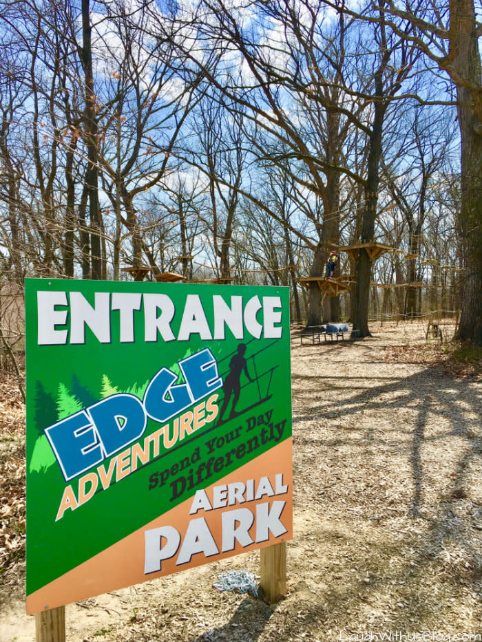 Edge Adventures Aerial Park NW Indiana Deep River