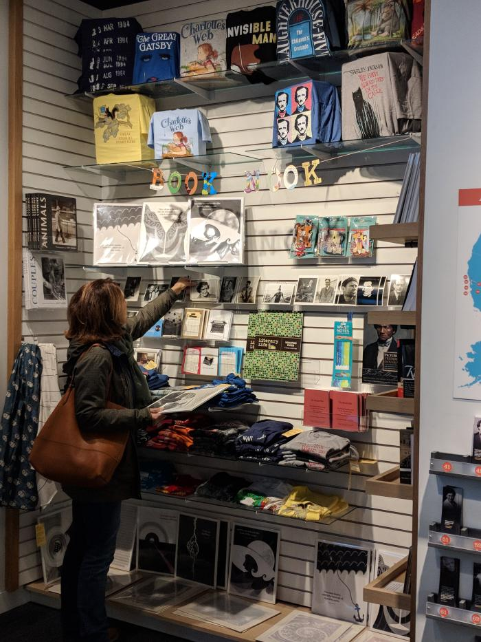 American Writers Museum gift shop