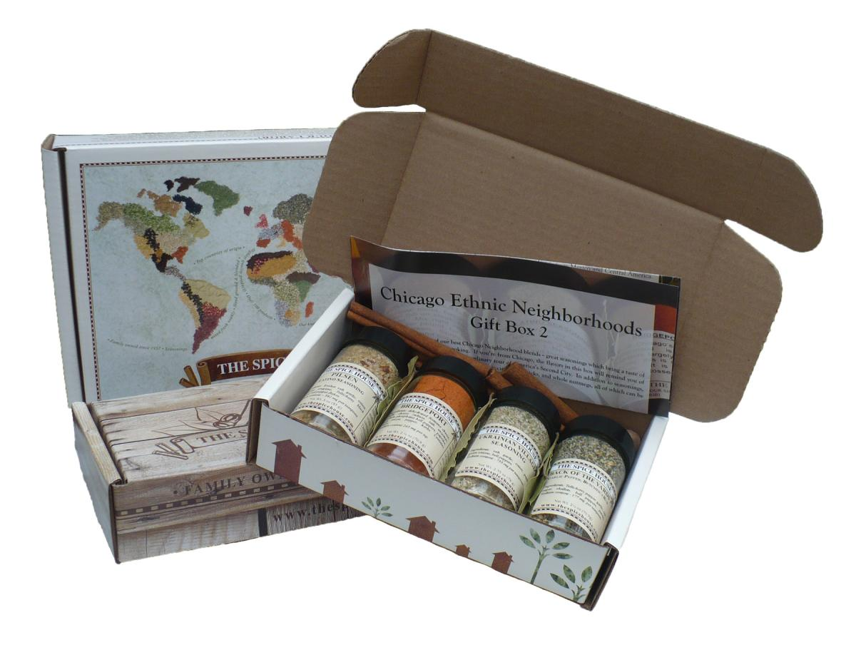 The Spice House gift boxes