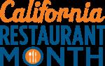 CA Restaurant Month logo