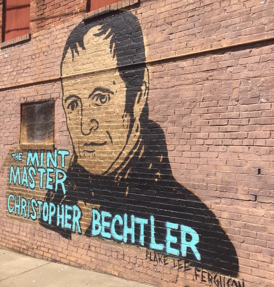 "Bechtler ""Mint Master"" Mural in Rutherfordton"