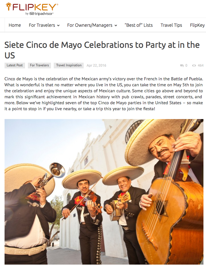 Siete Cinco de Mayo Celebrations to Party at in the US
