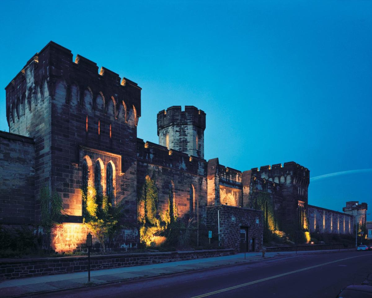 Eastern State Penitentiary at Night