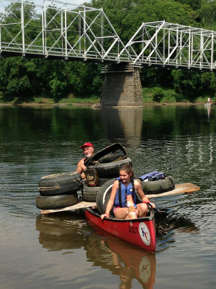 Volunteers make the Delaware River Cleanup Successful