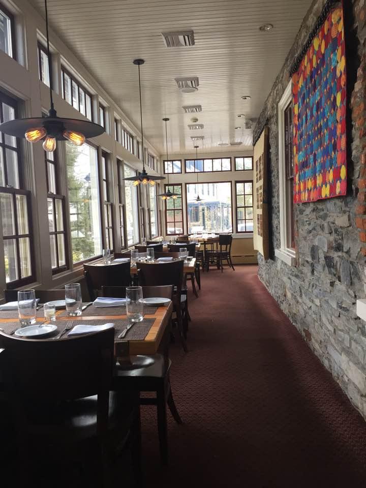 Logan Inn dining room