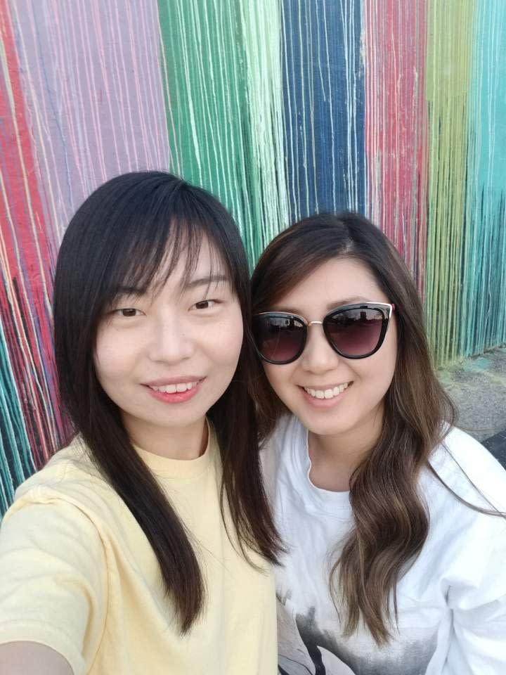 Sharon and her bff, Jenn