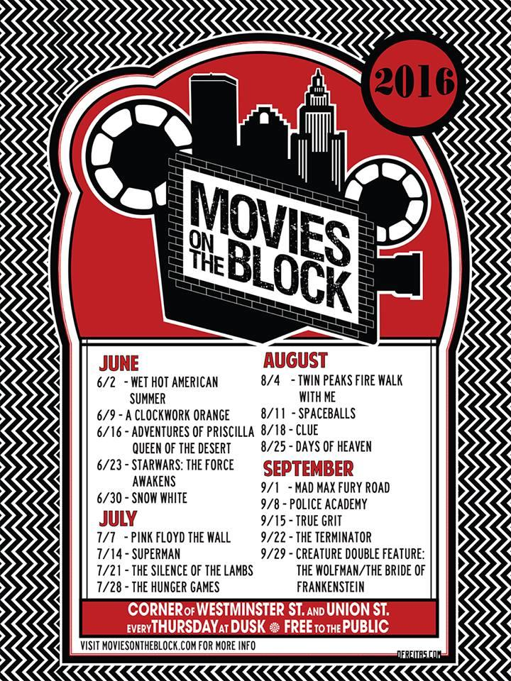 Movies on the Block 2016