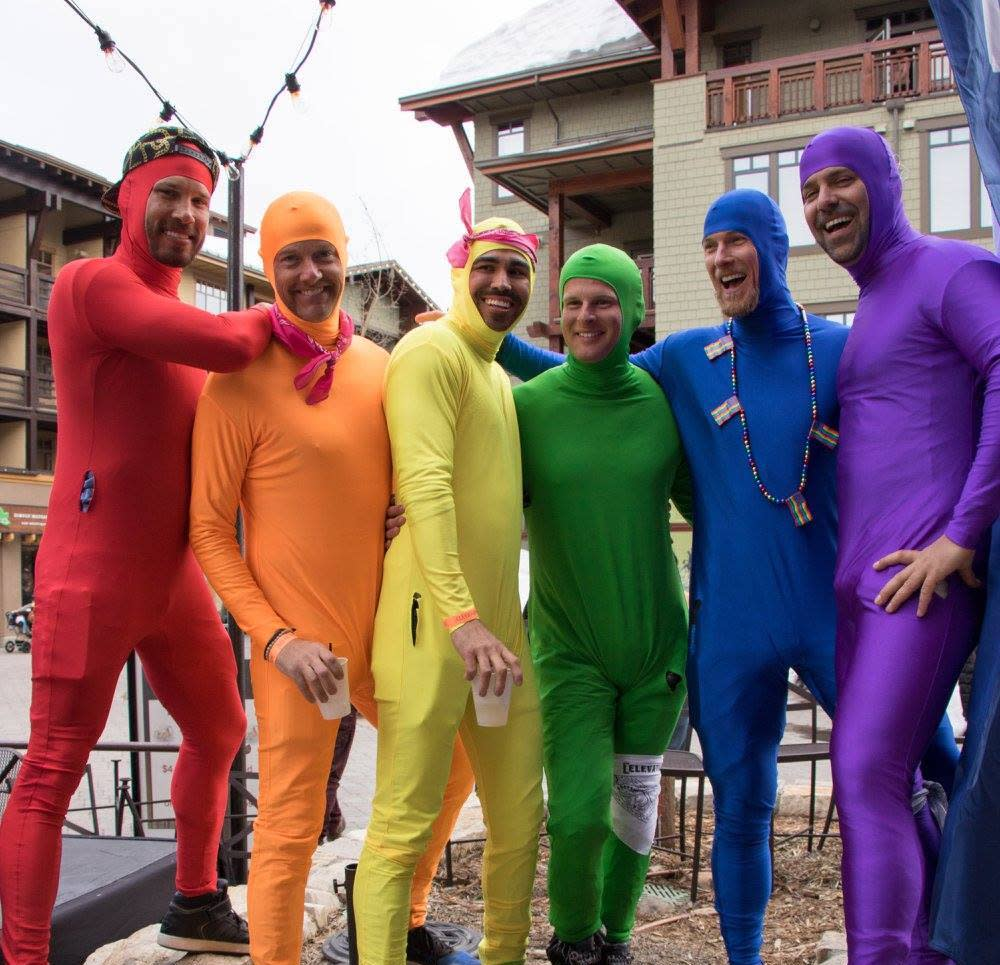 Utah Gay Ski Week Has the coolest (and coldest) rainbow we've ever seen