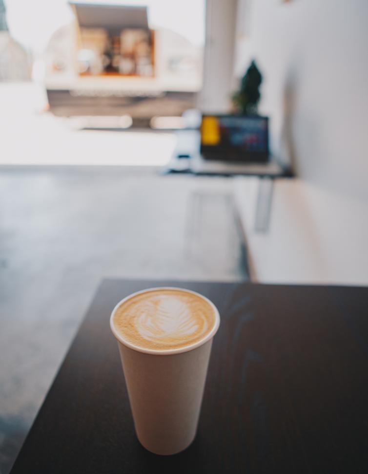 Canoe Coffee Lavender Latte