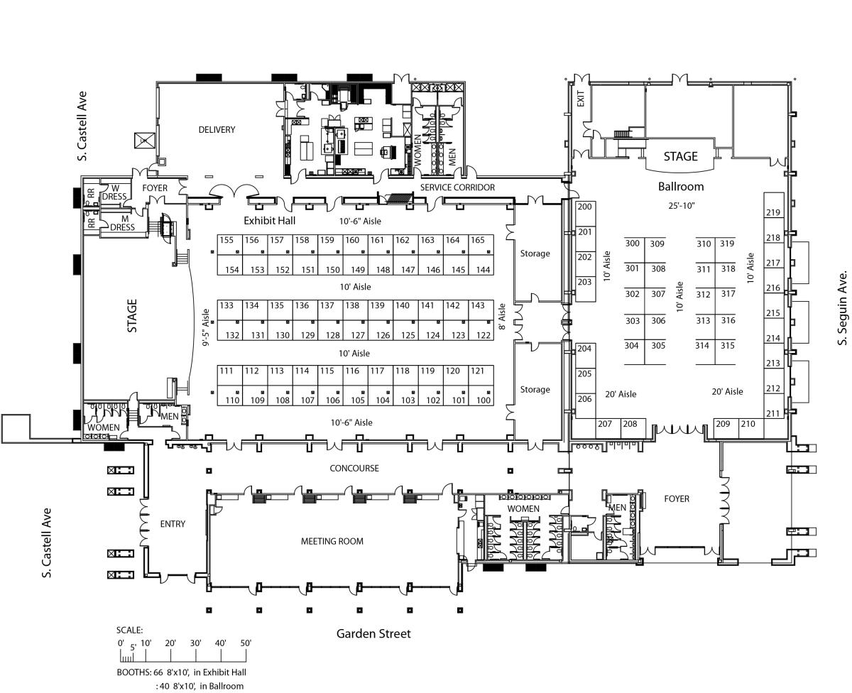 Business Trade Show Floor Plan