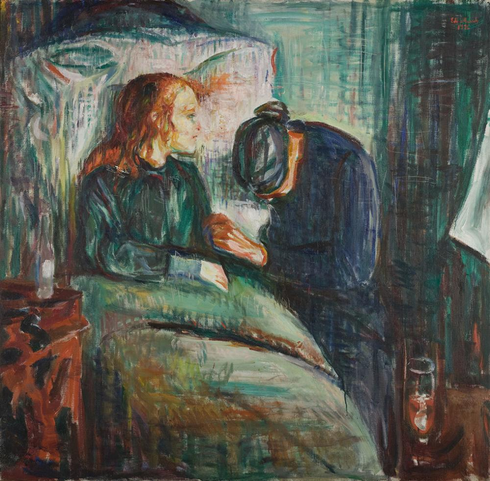 """The sick child"", Edvard Munch (1925)"