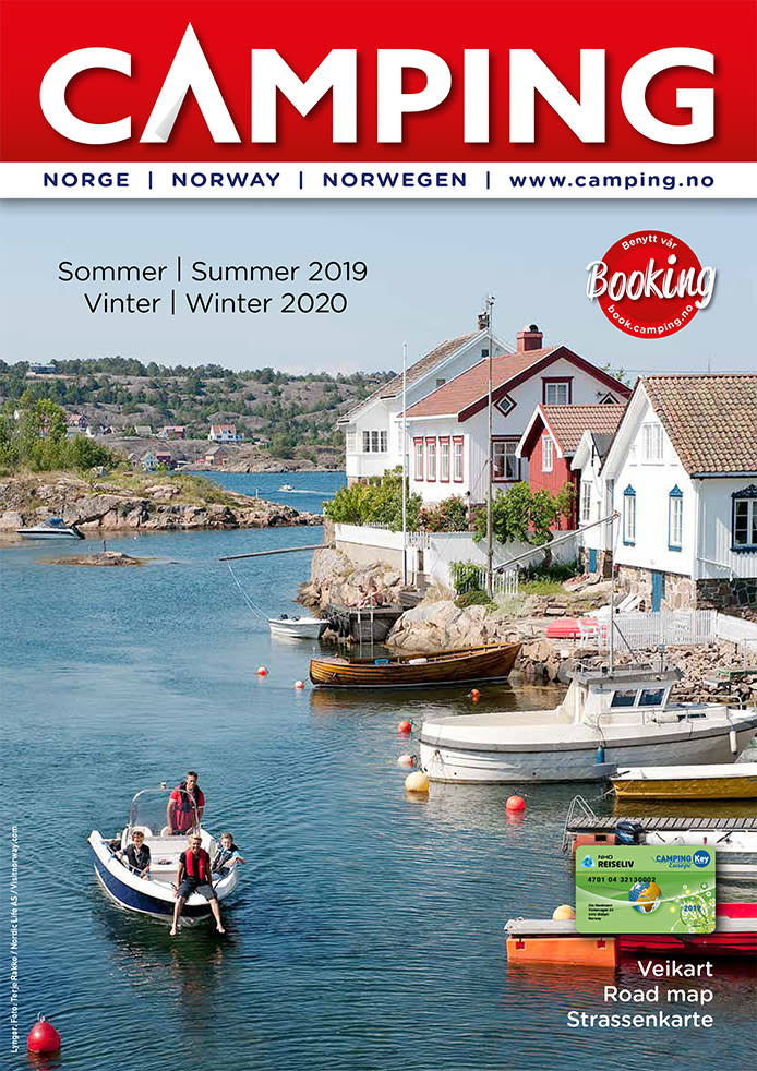 Norwegian Camping Guide 2019–2020