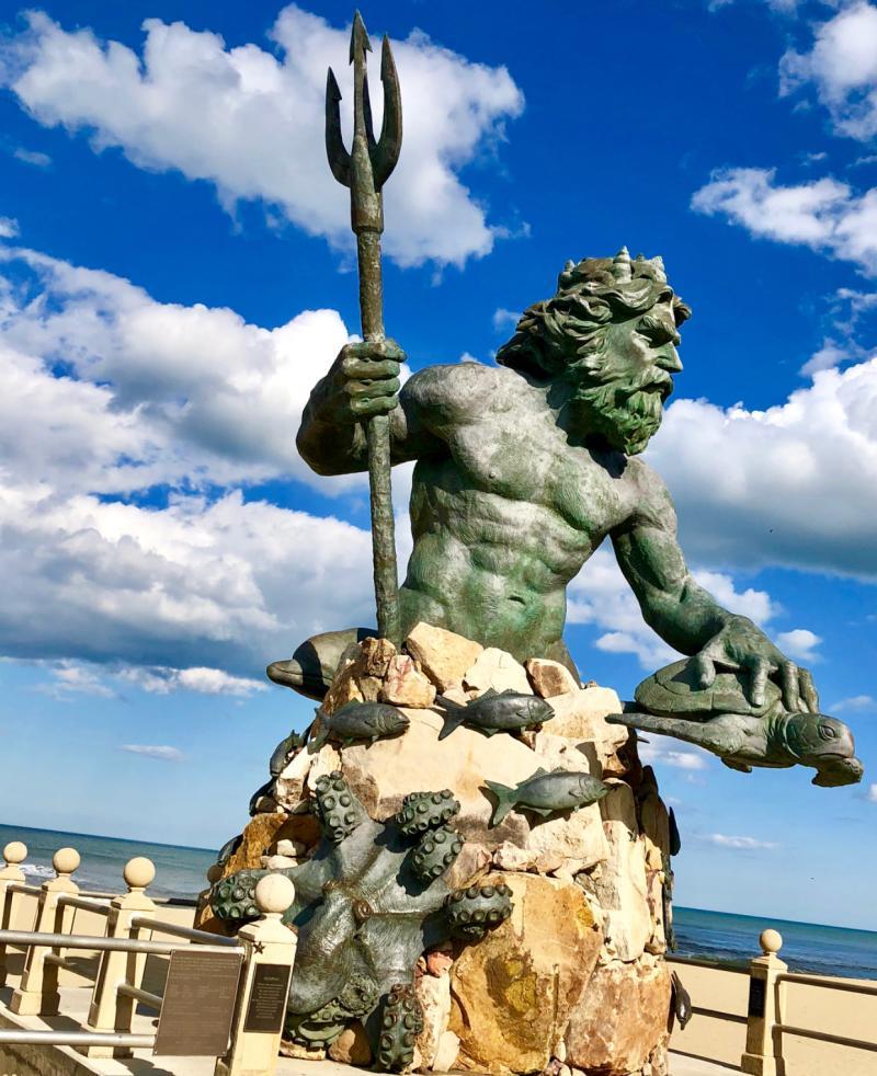 King Neptune Statue