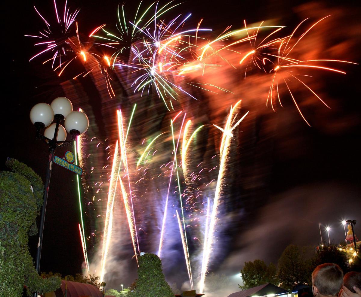 Sesame Fireworks