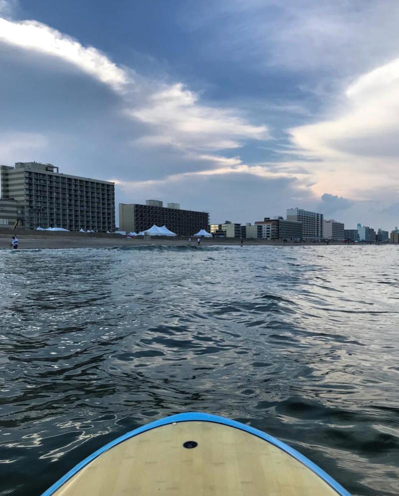 Oceanfront Paddleboarding