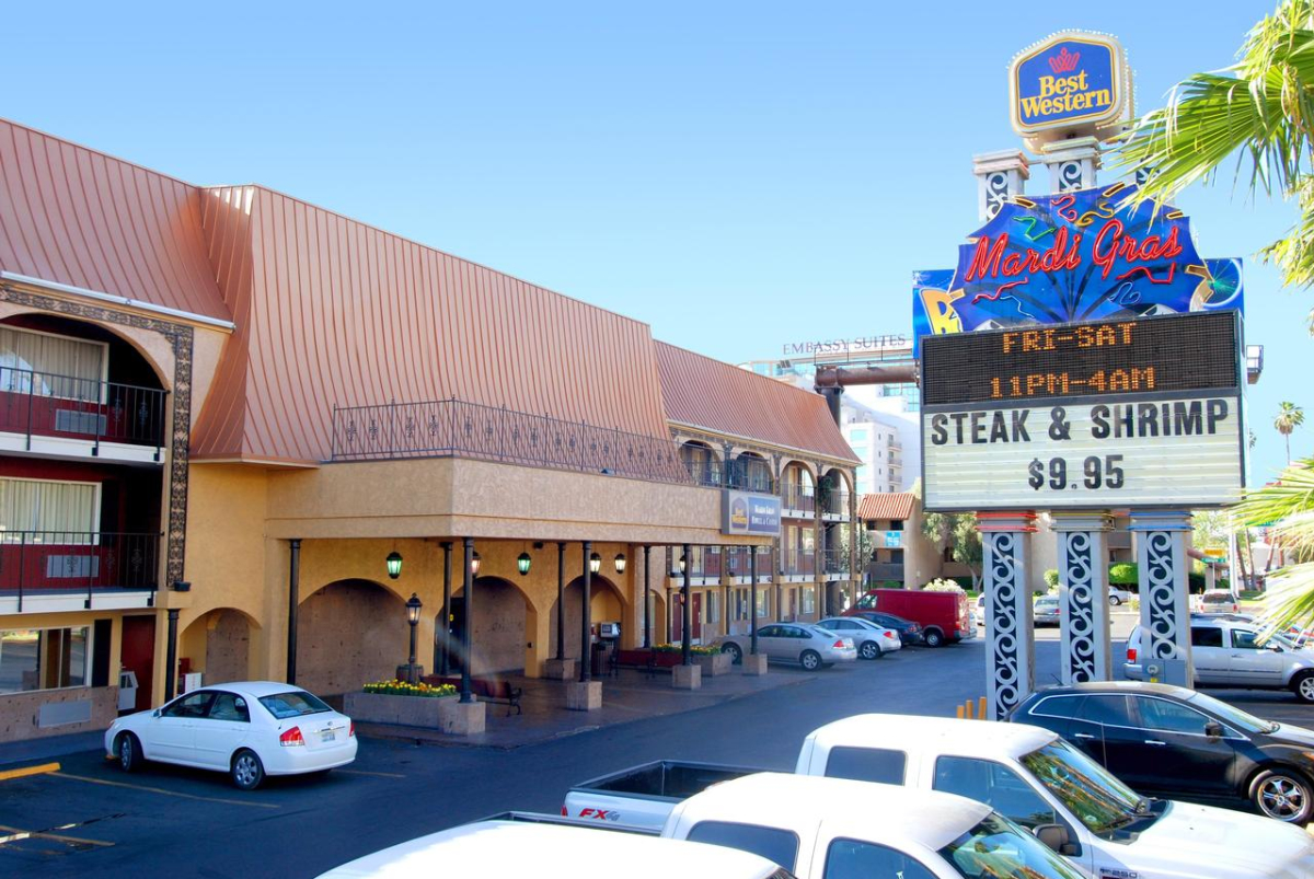 Mardi Gras Hotel and Casino | Las Vegas, NV 89169