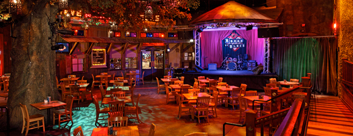 House Of Blues Restaurant Bar Las Vegas Nv 89119