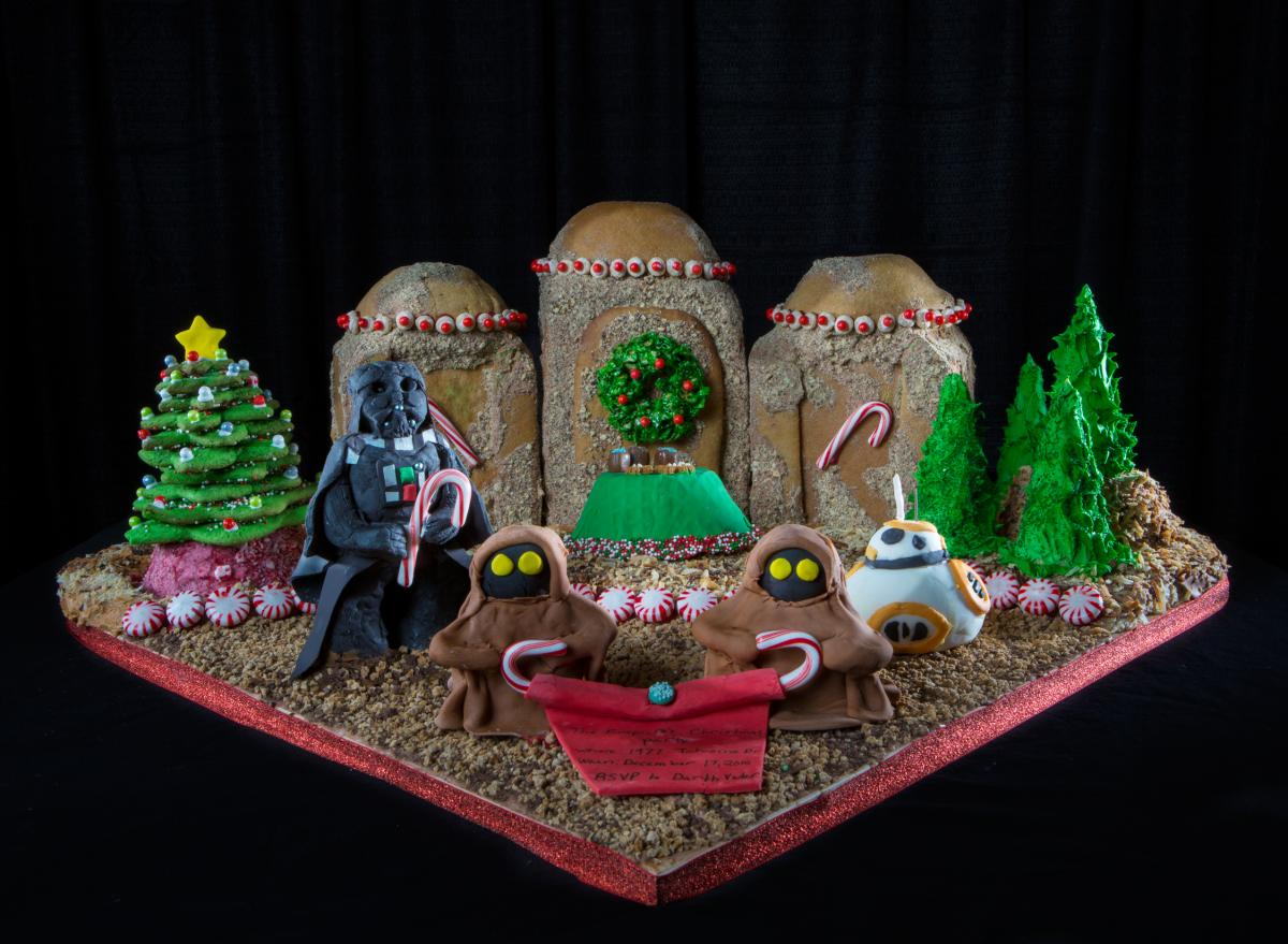 2015 Gingerbread 1st Place Youth Winner