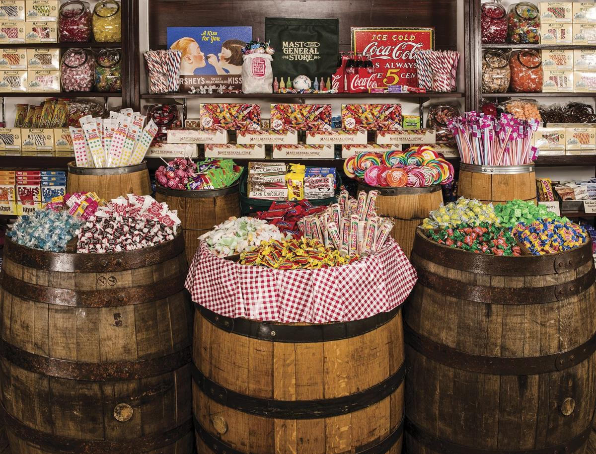 Mast General Store Candy Barrel