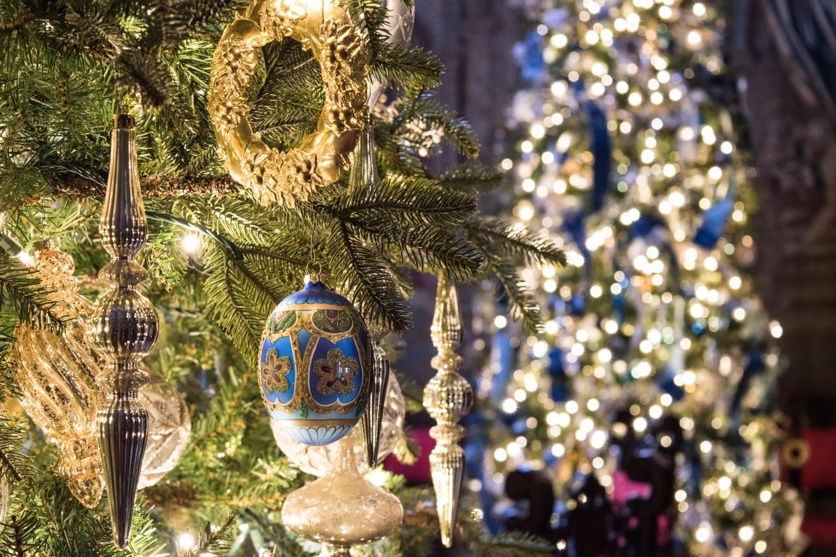 Christmas at Biltmore Tree Ornaments 2017
