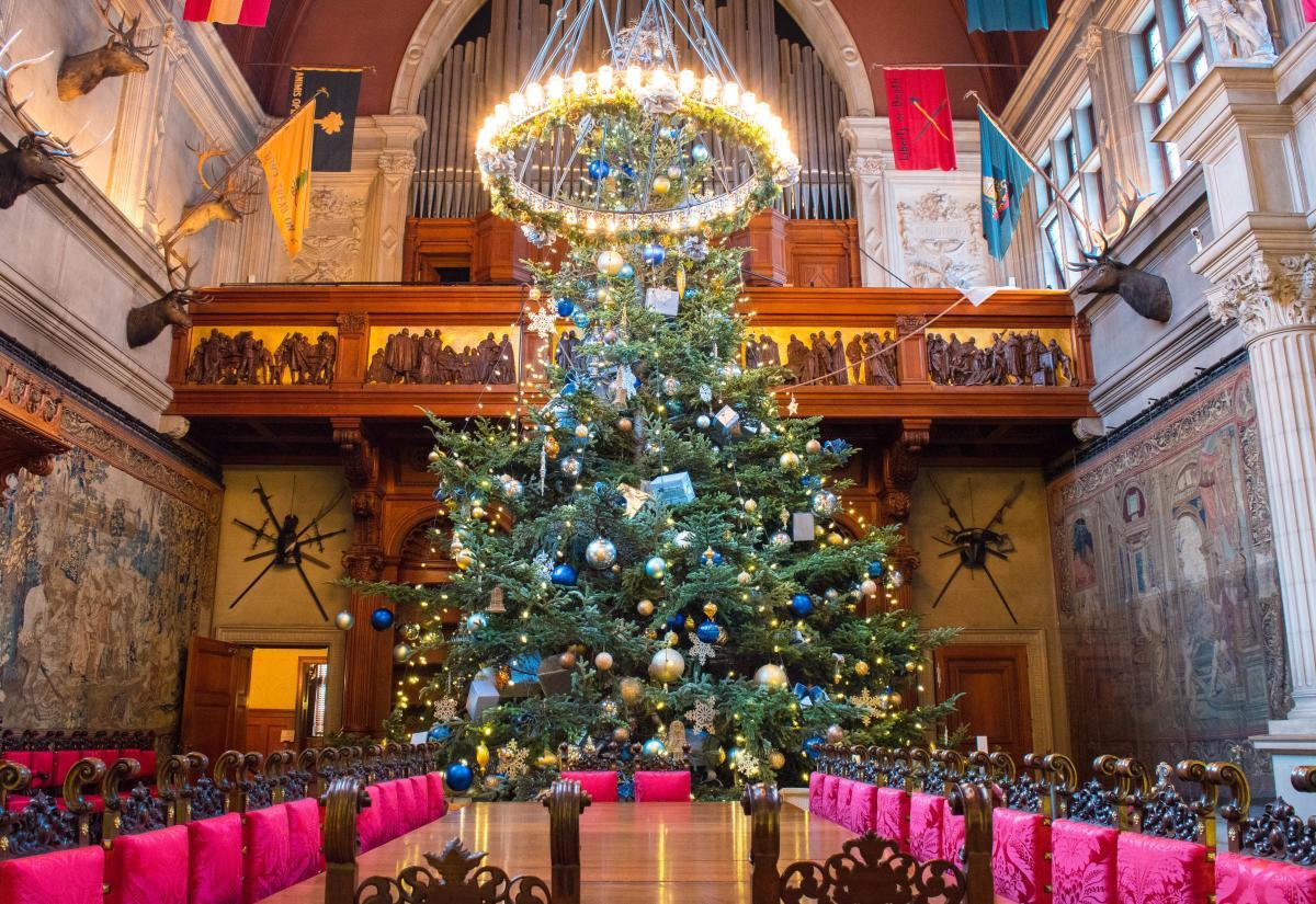 Christmas at Biltmore Banquet Hall Tree 2017
