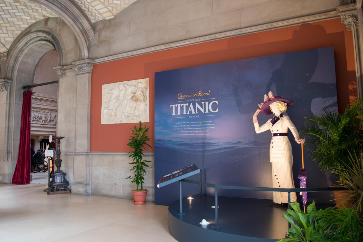 Biltmore Titanic Exhibition