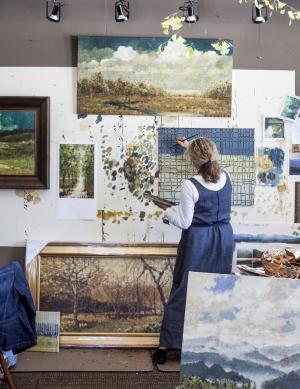Studio in River Arts District