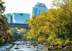 Wilmington and the Brandywine River