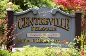 Centerville Delaware Welcome Sign