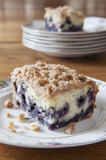 Blueberry Buckle #Recipe   ExploreAsheville.com