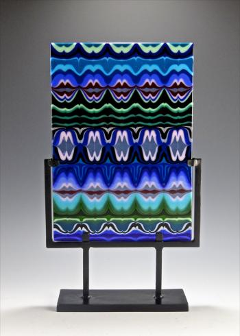 """Look at Those Lips"" by glass artist JJ Brown"