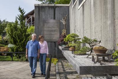 Bonsai Exhibit at the NC Arboretum