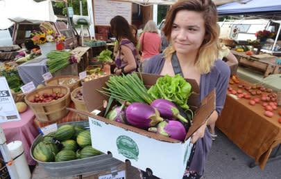 An Asheville Farmers Market