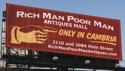 Rich Man Poor Man Antiques