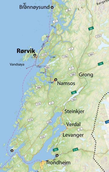 Reisebeskrivelse Rørvik