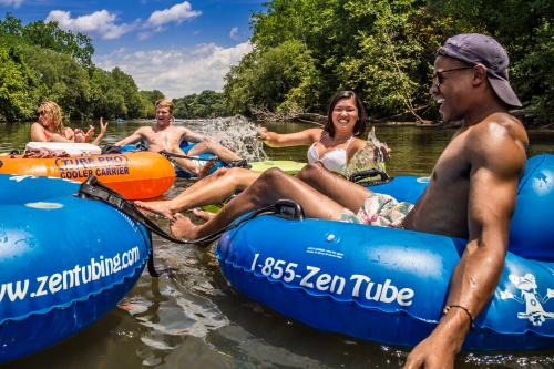 Tubing on the French Broad River