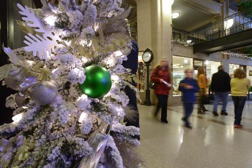 Holidays at the Grove Arcade
