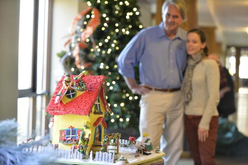 National Gingerbread House Competition and Display at The Omni Grove Park Inn