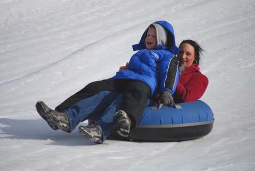 Snow Tubing at Wolf Ridge