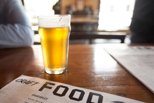 Beer and Menu at Grand Rapids Brewing Co