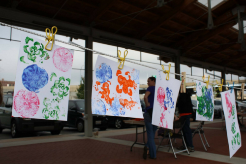 Artists Creating Together artwork in Grand Rapids