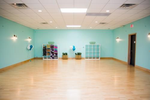 Interior of Renew Mama yoga studio