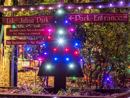8. Lake Julian Festival of Lights - Top 8 Places To See Holiday Lights In Asheville, N.C.