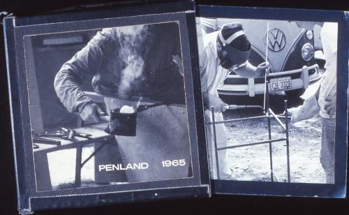 Building the Southeast's First Studio Glass Furnace at Penland School of Craft in 1965