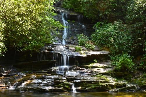 Tom Branch Falls Deep Creek Area